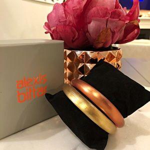 Alexis Bittar Skinny Tapered Bracelet SET